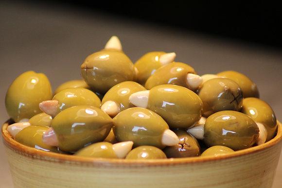 Olive fourré aux amandes (300g)
