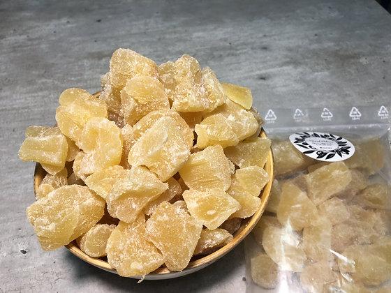 Gingembre confit sans sucre (300g)