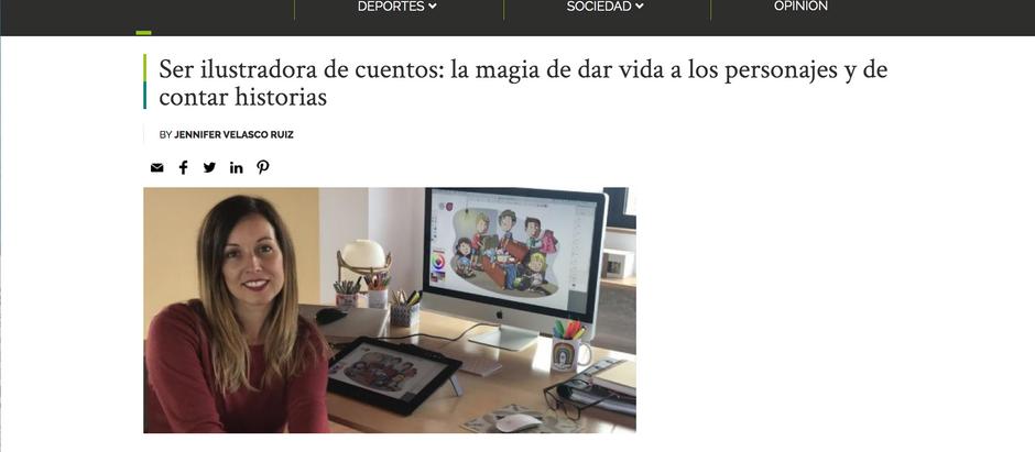 Agradecida por el artículo de GNdiario