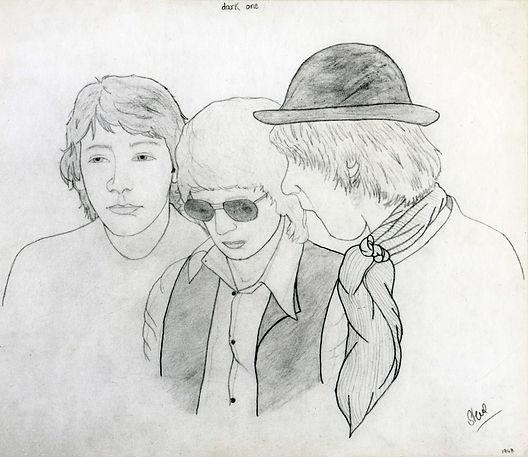 Sketch by Steve L-R Bruce, Steve Charlie