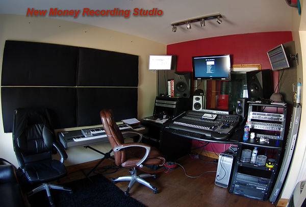 New Money Studios. A bit different to the Dark Round The Edges sessionn