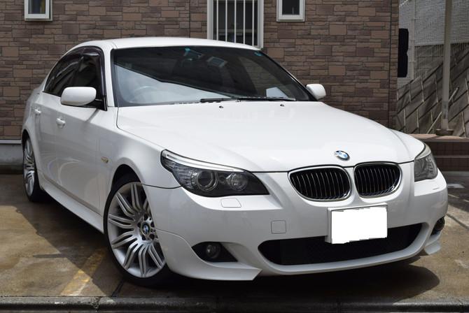 【新着在庫】BMW 525iMスポーツ 入庫