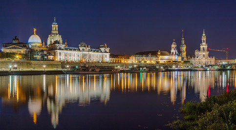 Dresden Across the Elbe