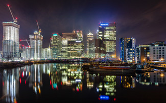 View from Blackwall Basin
