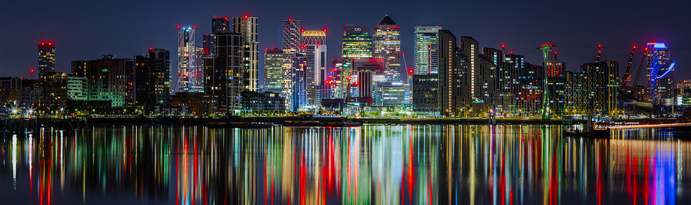 Night Time at the Isle of Dogs