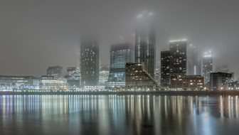 West Canary Wharf in the mist.jpg