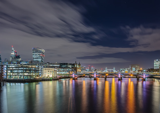 A View from the Millennium Bridge