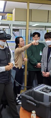이동식 원스톱 VR 안전교육 시스템 구축