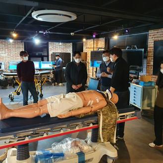 XR기반 중증 외상처치 훈련시스템 구축