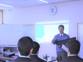 飯田OIDE長姫高等学校3年生が会社見学に来ました