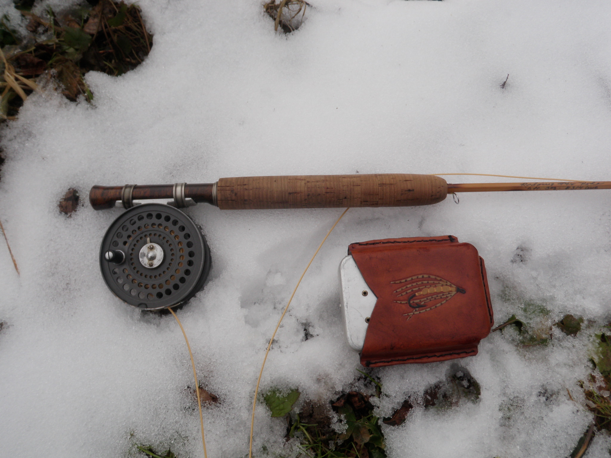 rod and soft hackle box