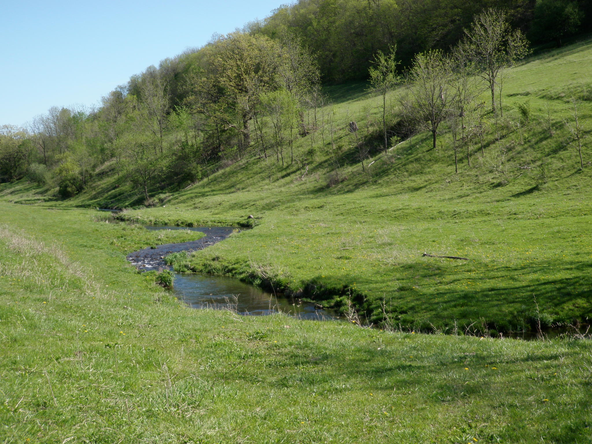 Coulee valley creek