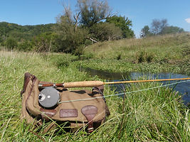 Guided Spring Creek Fly Fishing in the Driftless Wisconsin