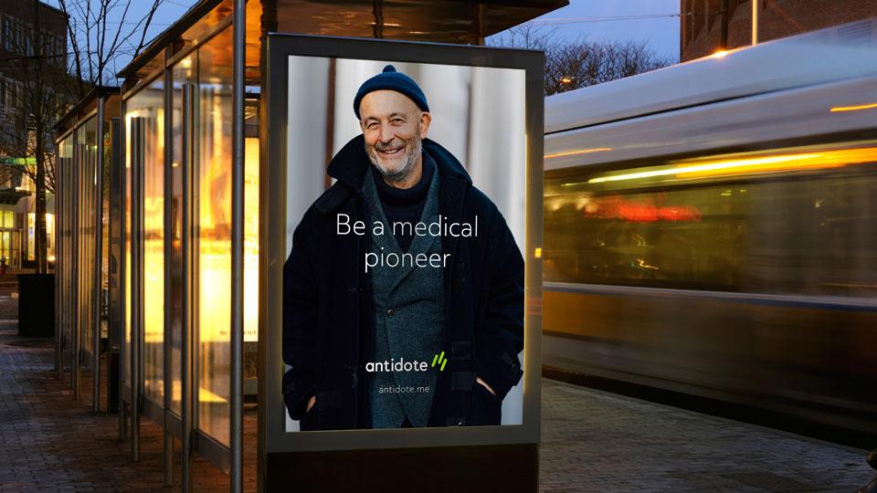 Antidote – Outdoor advertising