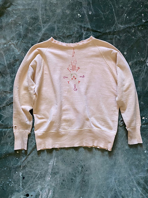 "Surrealism Collage Sweatshirts ""Paradoxical Skull"""