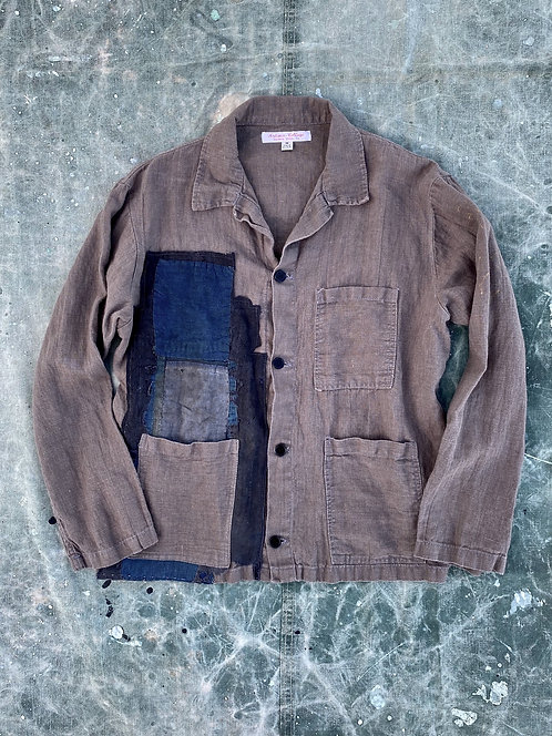 Japnese Boro Patched Linen Jacket No3