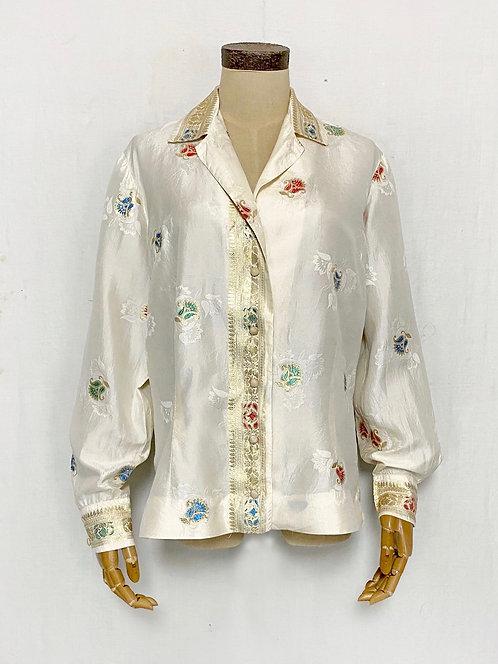 VINTAGE 1950's Saks Fifth Avenue Silk Shirts