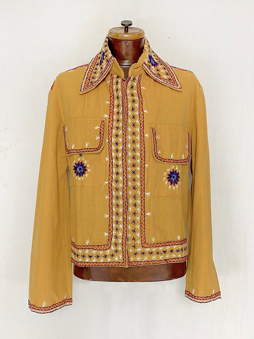1970's Indian Hand Embroidered Jacket