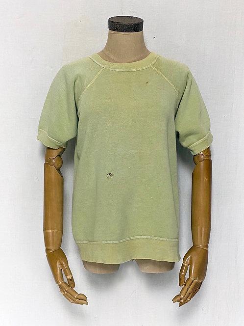 Natural Dyed Vintage Half Sleeve Sweatshirts