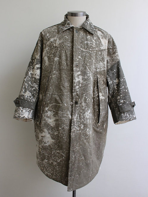 Military x Quilt Reversible Coat, Collaboration w/Clutch Golf