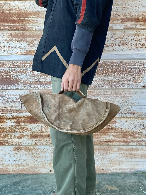 Upcycled 180° open Tool Bag