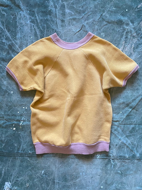 VINTAGE 60's Bi-color Half Sleeve Sweathshirts