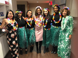 Leadership Luau 2018 from the NFBPA Conference