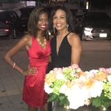 Stephanie and the lovely Gina Gaston