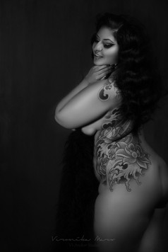 Misty Lotus by Veronika Marx