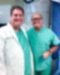 Dr. Sanders and Professor Carrick