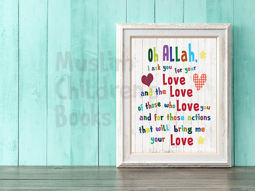 Oh Allah: Love Poster