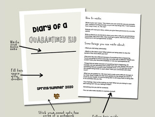 Diary of a Quarantined Kid