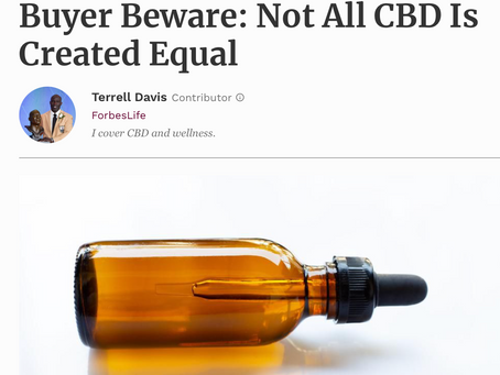 So Much Truth! Not all CBD is Equal