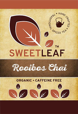 Rooibos Chai label