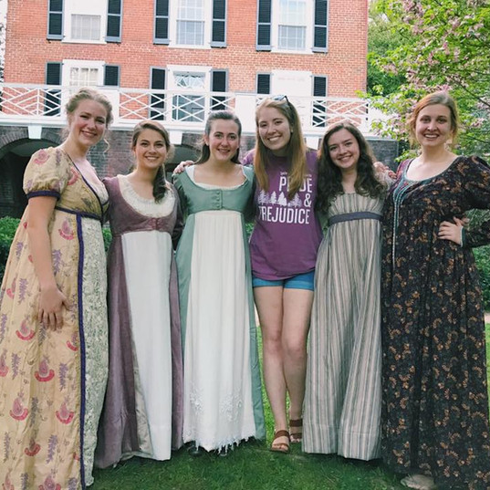 After a performance of Pride and Prejudice at UVA, 2017.