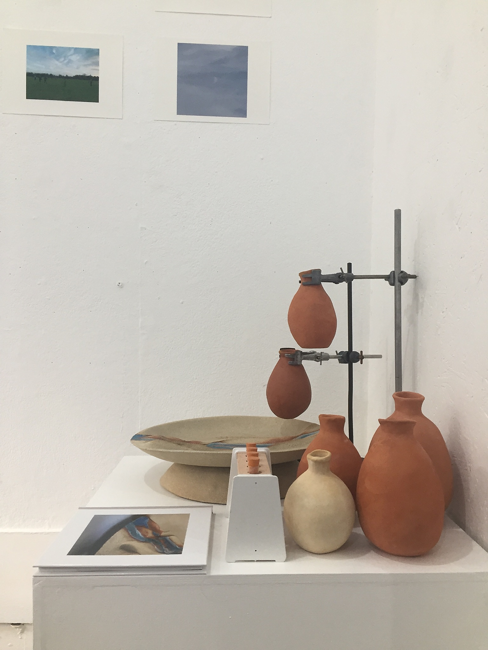 Shared water, contested water 2018. Installation view, Gallery 9, Cambridge, UK.