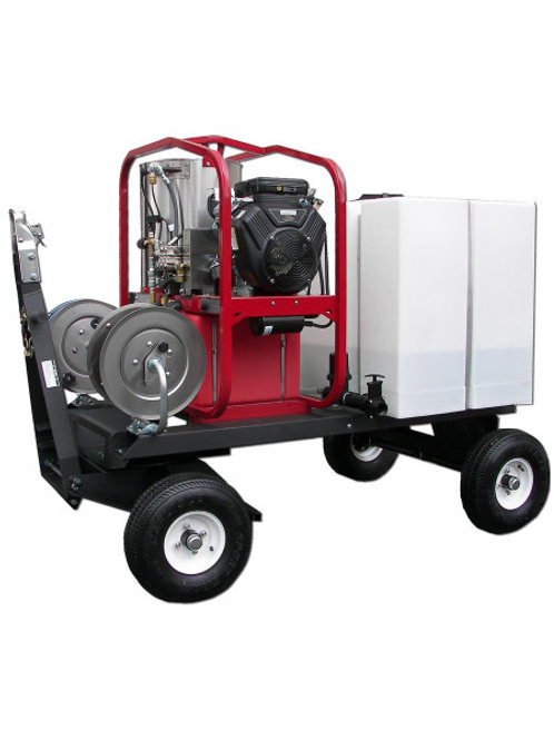 HOT WATER PRESSURE WASHER WITH DIESEL ENGINE TANK SKID PACKAGE – 4.0 GPM