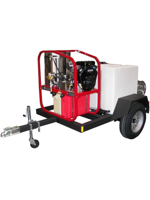 SINGLE AXLE HOT WATER PRESSURE WASHER TRAILER PACKAGE – 4.8 GPM 05