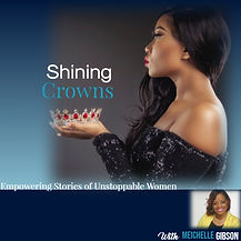 Shining Crowns Sample Book Cover - Made