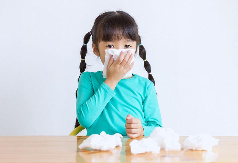 sinusitis in children, running nose, resdung, 鼻窦炎