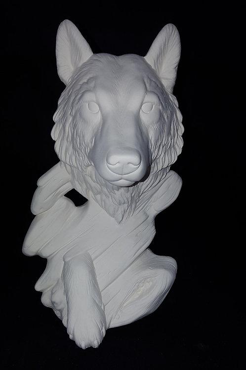 Emerging Wolf