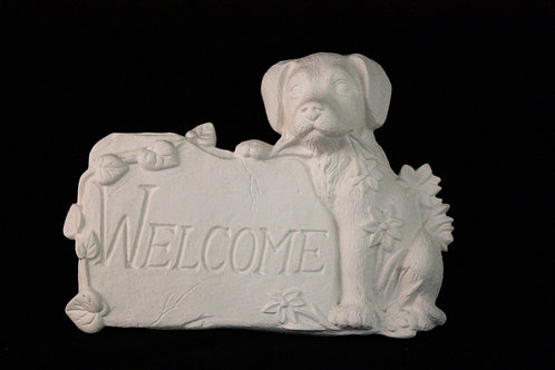Welcome Puppy Plaque