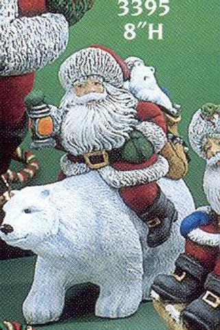 Gare Santa Riding Bear