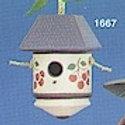 Clay Magic Plain Birdhouse