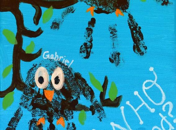 handprint-owl-canvas-amp-canvas-our-home