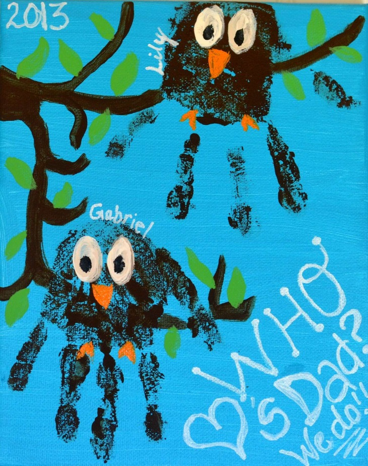 handprint-owl-canvas-amp-canvas-our-home
