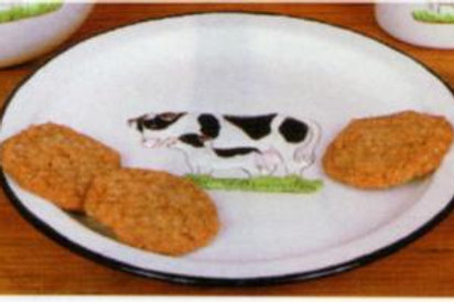 Alberta's Country Cow Cookie Plate