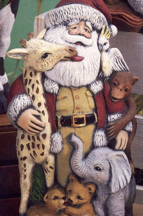 Gare African Wildlife Santa