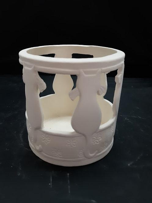 Cats Candleholder