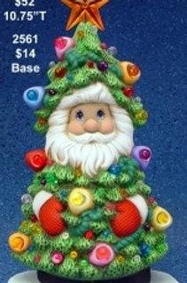 Clay Magic Christmas Tree Santa